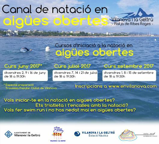 curs natació aigües obertes baner web